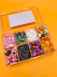 Halloween sprinkle box  (2 stuks)