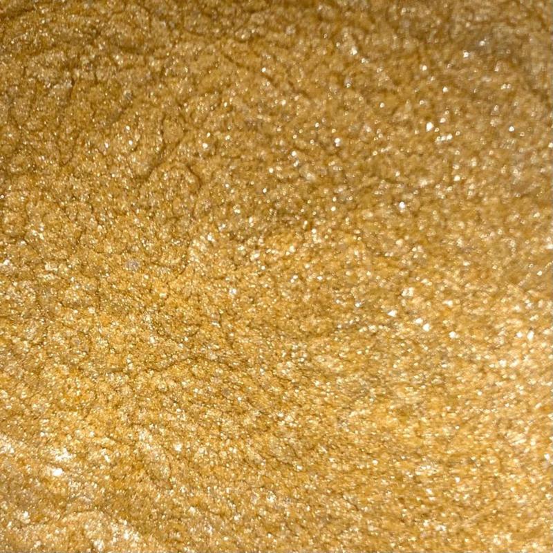 Glitter Geel 4 x 10 gram