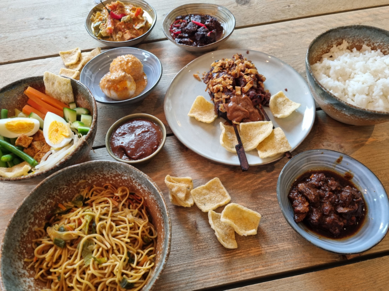 Indofood  Menu Compleet