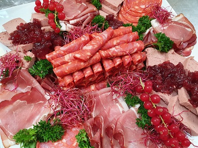 Buffet  Vlees