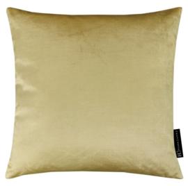 Sierkussen Velours Yellow Gold Goudgeel 45x45cm