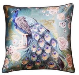 Sierkussen Opulent Peacock Multikleur/Blauw 45x45cm