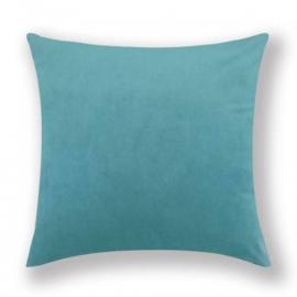 Sierkussen Velvet Azure Blauw 45x45cm