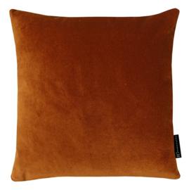 Sierkussen Velvet African Oranje 45x45cm
