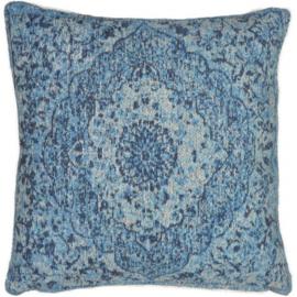 Sierkussen VKW Glorieusement 'Cimarosa' Lichtblauw 45x45cm