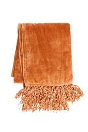 Plaid Micro Flannel Solid Peach Oranje