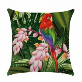 Sierkussen Amazone Parrot Multikleur 45x45cm