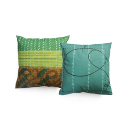 Kinderkussen Pillow Elephants Multikleur 45x45cm