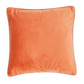Sierkussen Microvelvet Oranje 45x45cm