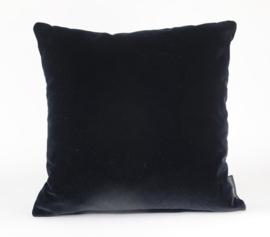 Sierkussen Velvet Black 0802 Zwart 45x45cm