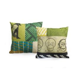 Kinderkussen Pillow Zoo Multikleur 45x45cm