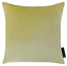 Sierkussen Velvet Butter 17126 Geel 45x45cm