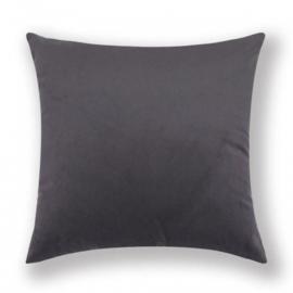 Sierkussen Velvet Dark Grijs 45x45cm