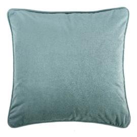 Sierkussen Microvelvet Stone Groen 45x45cm