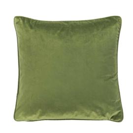 Sierkussen Microvelvet Olijf Groen  45x45cm