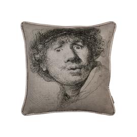 Sierkussen Rembrandt  Beige 40x40cm