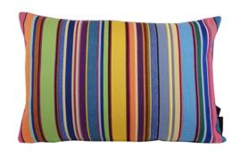 Sierkussen Pop-Art Stripes Multikleur 60x40cm