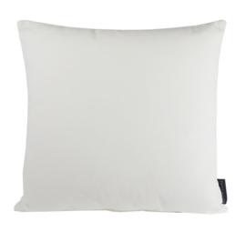 Sierkussen Velvet Warm White 0013 Wit 45x45cm
