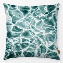 Sierkussen Aqua Turquoise