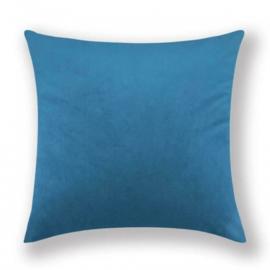 Sierkussen Velvet Blauw 45x45cm