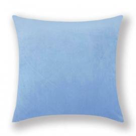 Sierkussen Velvet Light Blauw 45x45cm