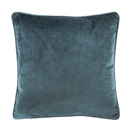 Sierkussen Microvelvet Koraal Blauw 45x45cm
