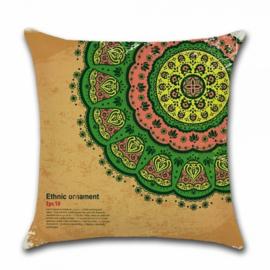 Sierkussen Marrakech Bruin/Groen 45x45cm