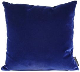Sierkussen Velvet Royal Blauw 45x45cm