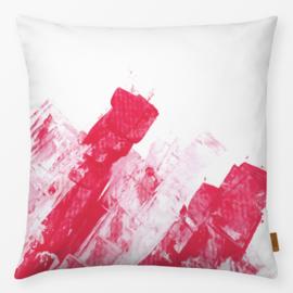 Sierkussen Mila 6 Rood/Roze