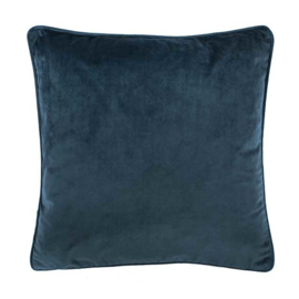 Sierkussen Microvelvet Donkerblauw 45x45cm