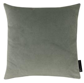 Sierkussen Velvet Mid Grijs 45x45cm