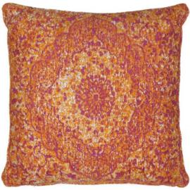 Sierkussen VKW Glorieusement 'Cimarosa' Oranje 45x45cm