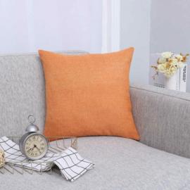Sierkussen Full Colour Gemêleerd Oranje 45x45cm