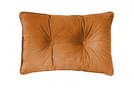 Sierkussen Microvelvet Large Licht Oranje 40x60cm