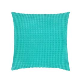 Sierkussen Soft Spheres Turquoise 45x45cm