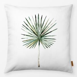 Sierkussen Fan Palm Wit