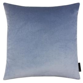 Sierkussen Velours Old Blue Lichtblauw 45x45cm