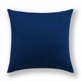 Sierkussen Velvet Dark Blauw 45x45cm
