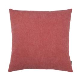 Sierkussen Leo Coral Rood/Roze 50x50cm