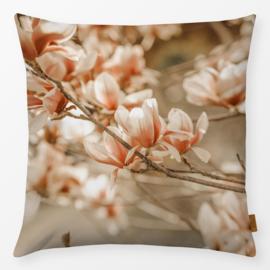 Sierkussen Magnolia Beige/Oranje