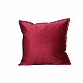 Sierkussen Luxury Velvet Rood 45x45cm