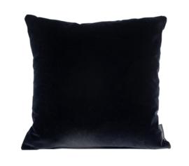 Sierkussen Velvet Black 0802 XXL Zwart 60x60cm