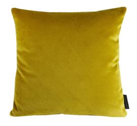 Sierkussen Velvet Limoncello Goudgeel 45x45cm
