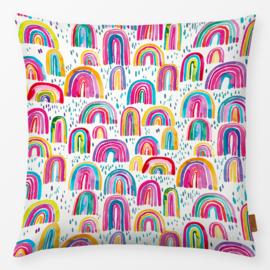 Kinderkussen Schattige Regenboog Multikleur