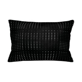Sierkussen Dolly Dots  Zwart/ Wit 50x30cm