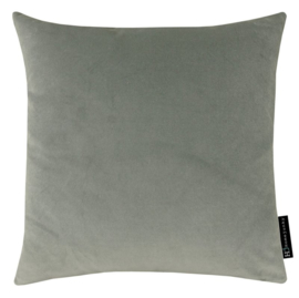 Sierkussen Velvet Light Grijs 45x45cm