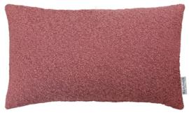 Sierkussen Boucle Berry Roze 50x30cm