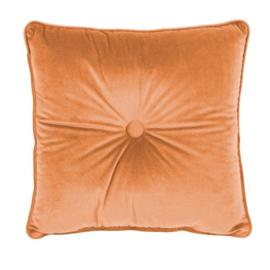 Sierkussen Microvelvet Small Peach Oranje 45x45cm