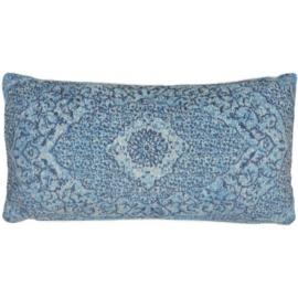 Sierkussen VKW Glorieusement 'Cimarosa' Lichtblauw 70x35cm