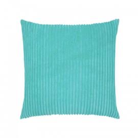 Sierkussen Soft Rib Turquoise 45x45cm